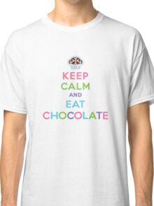 Keep Calm and Eat Chocolate  - lights Classic T-Shirt