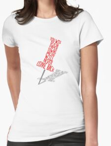 Paper Towns Womens Fitted T-Shirt