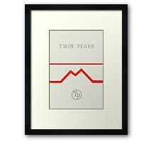 Twin Peaks High School Framed Print