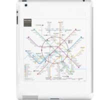 Moscow metro map iPad Case/Skin