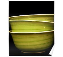 Green Bowls Poster
