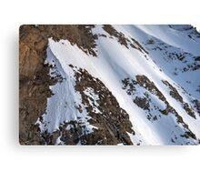 Winter on Kitzsteinhorn 73 Canvas Print