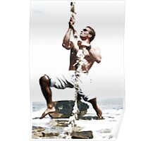 Maurice On Rope Poster