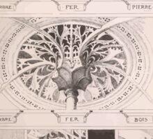 Esquisses décoratives Binet Rene 190x 0045 Chapiteau Sticker