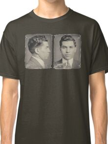 Lucky Luciano Mug Shots Front and Profile Classic T-Shirt