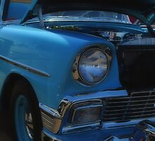 Turquoise 56  Chevy by Mattie Bryant