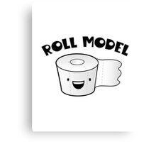 Roll Model Canvas Print