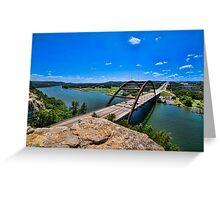 Austin 360 Bridge Greeting Card