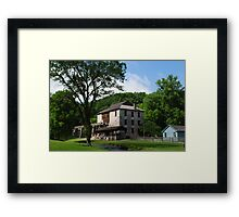A simple time Framed Print