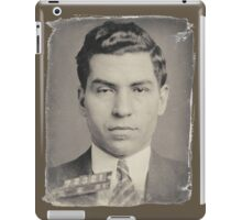 Lucky Luciano Mug Shot iPad Case/Skin