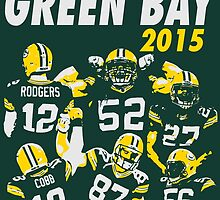 Green Bay Packers - 2015 by twyland