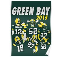 Green Bay Packers - 2015 Poster