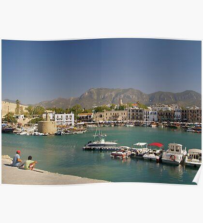 Kyrenia Harbour Poster