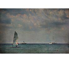 Just Sail Away Photographic Print