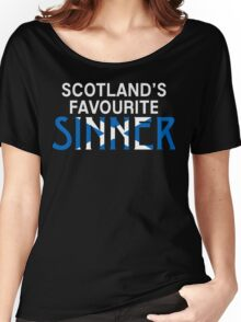 "Christopher Saynt ""Sinners are Winners""  Women's Relaxed Fit T-Shirt"