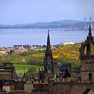 Edinburgh - 1 by Jean-Luc Rollier