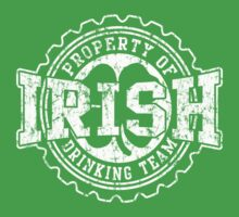 Irish Drinking Team Bottle Cap Kids Tee