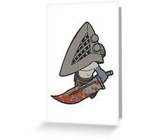 Silent Hill - Pyramid Head Greeting Card