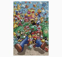 Super Mario Bros. 3 - RUN!!! One Piece - Short Sleeve