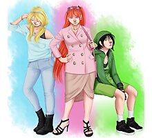Powerpuff Girls - The College Years Photographic Print