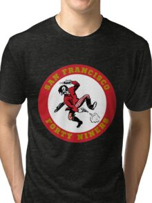 San Francisco 49ers logo 2 Tri-blend T-Shirt