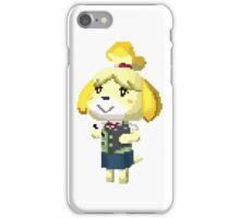 Pixel Isabelle Animal Crossing New Leaf Print iPhone Case/Skin