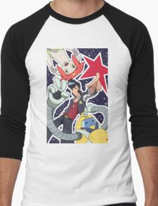 Space Dandy Men's Baseball ¾ T-Shirt