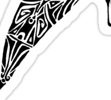 Tribal Shark Sticker