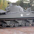 Sherman Tank by Steven Squizzero