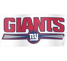 New York Giants logo 2 Poster