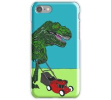 T-Rex gardening iPhone Case/Skin
