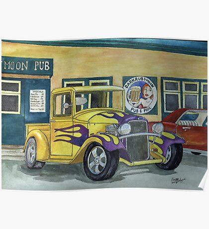 1932 Hot-Rod Pickup Poster