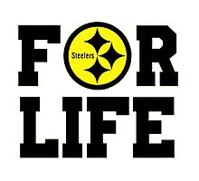 Pittsburgh Steelers logo 1 Photographic Print
