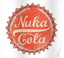 Nuka Cola Bottle Cap Poster