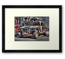 Hummer H1 Framed Print