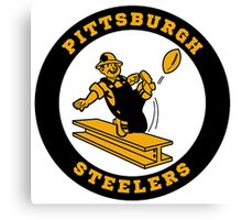 Pittsburgh Steelers logo 2 Canvas Print