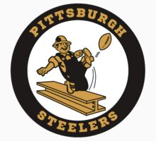 Pittsburgh Steelers logo 2 Kids Clothes