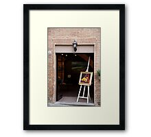 artscapes #62, flowers easelly Framed Print