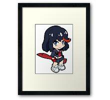 Kill La Kill - Ryuko Framed Print