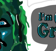 The Mighty Boosh - I'm Old Gregg Sticker