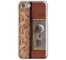 Baltimore Door no. 3 iPhone Case/Skin