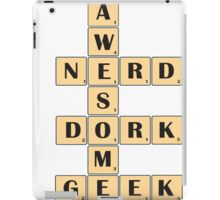 Awesome Nerd Geek Dork iPad Case/Skin