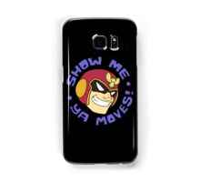 "Super Smash Bros. - Captain Falcon ""Show Me Ya Moves!"" - F-Zero Samsung Galaxy Case/Skin"