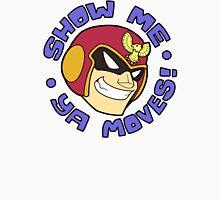 "Super Smash Bros. - Captain Falcon ""Show Me Ya Moves!"" - F-Zero Unisex T-Shirt"
