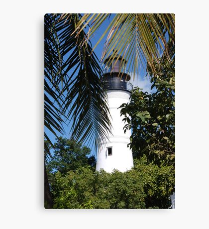 The Lighthouse in Key West, FL Canvas Print