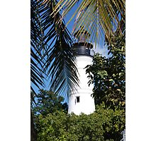 The Lighthouse in Key West, FL Photographic Print
