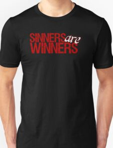 "Christopher Saynt ""Sinners Are Winners"" T-Shirt"