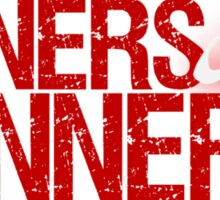 "Christopher Saynt ""Sinners Are Winners"" Sticker"