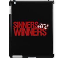 "Christopher Saynt ""Sinners Are Winners"" iPad Case/Skin"