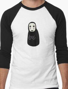 Studio Ghibli - Spirited Away - No Face (Spirit) Men's Baseball ¾ T-Shirt